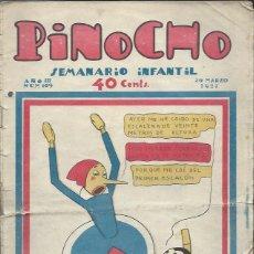 Tebeos: PINOCHO SEMANARIO INFANTIL AÑO III Nº 109 20 MARZO 1927, ED. SATURNINO CALLEJA. Lote 50130878