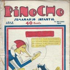 Tebeos: PINOCHO SEMANARIO INFANTIL AÑO II Nº 88 24 OCTUBRE 1926, ED. SATURNINO CALLEJA. Lote 50130890