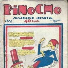 Tebeos: PINOCHO SEMANARIO INFANTIL AÑO II Nº 87 17 OCTUBRE 1926, ED. SATURNINO CALLEJA. Lote 50130894