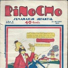 Tebeos: PINOCHO SEMANARIO INFANTIL AÑO II Nº 86 10 OCTUBRE 1926, ED. SATURNINO CALLEJA. Lote 50130907