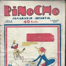Tebeos: PINOCHO SEMANARIO INFANTIL AÑO II Nº 85 3 OCTUBRE 1926, ED. SATURNINO CALLEJA. Lote 50130911