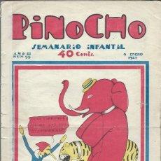 Tebeos: PINOCHO SEMANARIO INFANTIL AÑO III Nº 99 9 ENERO 1927, ED. SATURNINO CALLEJA. Lote 50130918