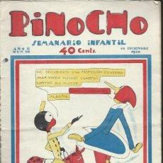 Tebeos: PINOCHO SEMANARIO INFANTIL AÑO II Nº 96 19 DICIEMBRE 1926, ED. SATURNINO CALLEJA. Lote 50130929