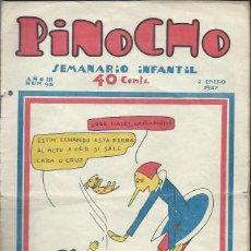 Tebeos: PINOCHO SEMANARIO INFANTIL AÑO III Nº 98 2 ENERO 1927, ED. SATURNINO CALLEJA. Lote 50130970