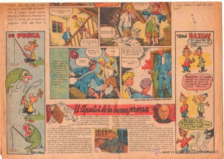 Tebeos: CLARIN Nº 71 ORIGINAL 1951 - 41 X 29 CMS.TONY LAY - Foto 2 - 50357764