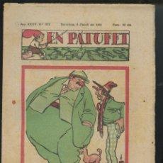 Tebeos: REVISTA PATUFET 08-04-1938 NÚM. 1772 (MALLOL, JUNCEDA, CORNET, LLAVERIES) GUERRA CIVIL . Lote 50361904