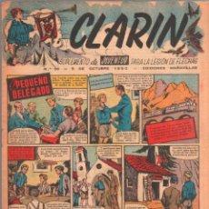 Tebeos: CLARIN ORIGINAL Nº 36 - 1950 -. Lote 50365258