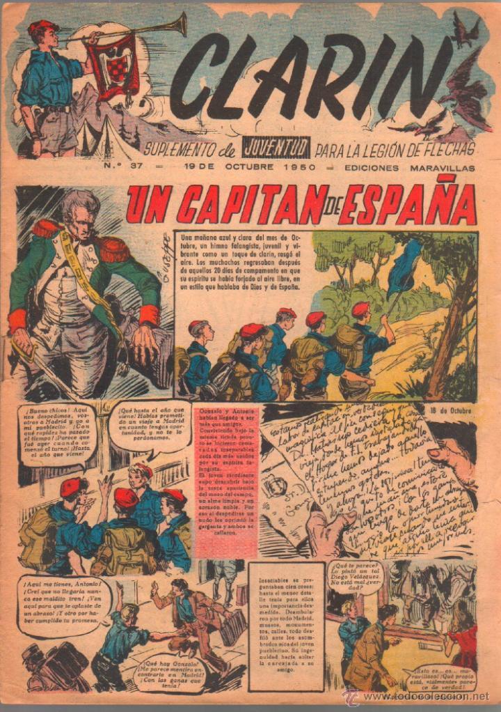 CLARIN ORIGINAL Nº 37 - 1950 (Tebeos y Comics - Tebeos Otras Editoriales Clásicas)