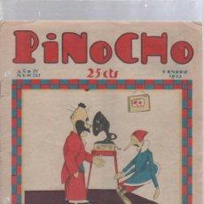 Tebeos: PINOCHO SEMANARIO INFANTIL AÑO IV Nº 151 8 ENERO 1928, ED. SATURNINO CALLEJA. Lote 50388219