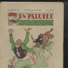 Tebeos: REVISTA PATUFET 03-06-1938 NÚM. 1780 (MALLOL, JUNCEDA, CORNET, LLAVERIES) GUERRA CIVIL . Lote 50389757