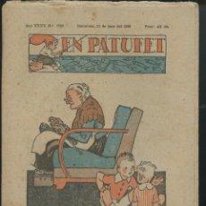 Tebeos: REVISTA PATUFET 17-06-1938 NÚM. 1782 (MALLOL, JUNCEDA, CORNET, LLAVERIES) GUERRA CIVIL . Lote 50390685