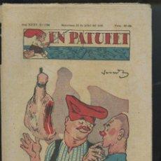 Tebeos: REVISTA PATUFET 15-07-1938 NÚM. 1786 (MALLOL, JUNCEDA, CORNET, LLAVERIES) GUERRA CIVIL. Lote 50390877