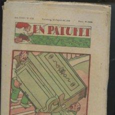 Tebeos: REVISTA PATUFET 20-08-1938 NÚM. 1791 (MALLOL, JUNCEDA, CORNET, LLAVERIES) GUERRA CIVIL . Lote 50391614