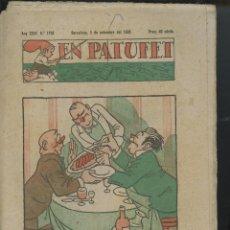 Tebeos: REVISTA PATUFET 03-09-1938 NÚM. 1793 (MALLOL, JUNCEDA, CORNET, LLAVERIES) GUERRA CIVIL . Lote 50391695
