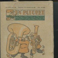 Tebeos: REVISTA PATUFET 17-09-1938 NÚM. 1795 (MALLOL, JUNCEDA, CORNET, LLAVERIES) GUERRA CIVIL . Lote 50391729