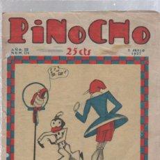 Tebeos: PINOCHO SEMANARIO INFANTIL AÑO III Nº 124 3 JULIO 1927. ED. SATURNINO CALLEJA. Lote 50400392