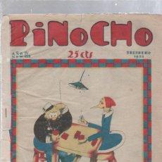 Tebeos: PINOCHO SEMANARIO INFANTIL AÑO IV Nº 155 5 FEBRERO 1928. ED. SATURNINO CALLEJA. Lote 50400404