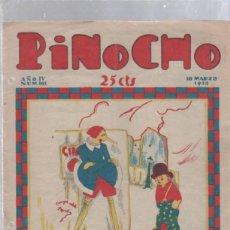 Tebeos: PINOCHO SEMANARIO INFANTIL AÑO IV Nº 161 18 MARZO 1928. ED. SATURNINO CALLEJA. Lote 50400425
