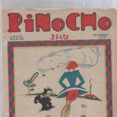 Tebeos: PINOCHO SEMANARIO INFANTIL AÑO IV Nº 170 20 MAYO 1928. ED. SATURNINO CALLEJA. Lote 50400440