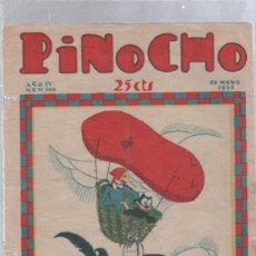 Tebeos: PINOCHO SEMANARIO INFANTIL AÑO IV Nº 169 13 MAYO 1928. ED. SATURNINO CALLEJA. Lote 50400441
