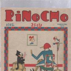 Tebeos: PINOCHO SEMANARIO INFANTIL AÑO IV Nº 181 5 AGOSTO 1928. ED. SATURNINO CALLEJA. Lote 50400445