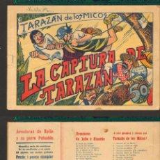 Tebeos: TEBEOS-COMICS CANDY - TARAZAN DE LOS MICOS - VALENCIANA - Nº 6 - 1944 - MUY RARO *XX99. Lote 50452445