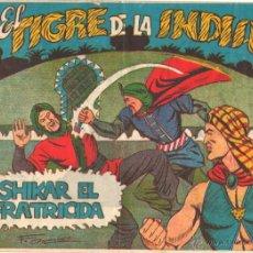 Tebeos: EL TIGRE DE LA INDIA ORIGINAL1962-VER PORTADAS,NºS- 2,3,4,5,6,8,9,10,11,12,13,15,16,17,22,23,24,25. Lote 50536893