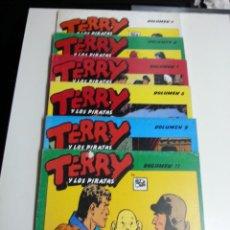 Tebeos: TERRY Y LOS PIRATAS LOTE DE 6 Nº 2-6-7-8-9-11. Lote 50648011