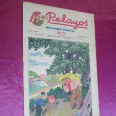 BDs: PELAYOS SEMANARIO INFANTIL AÑO II - 2 - Nº 51 AÑO 1937. Lote 50947065