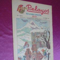 BDs: PELAYOS SEMANARIO INFANTIL AÑO III - 3 - Nº 61 AÑO 1938 RESERVADO CACO. Lote 50947429