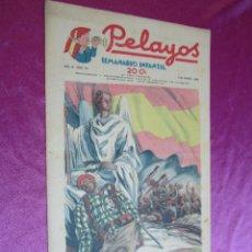 BDs: PELAYOS SEMANARIO INFANTIL AÑO III - 3 - Nº 63 AÑO 1938. Lote 50947504