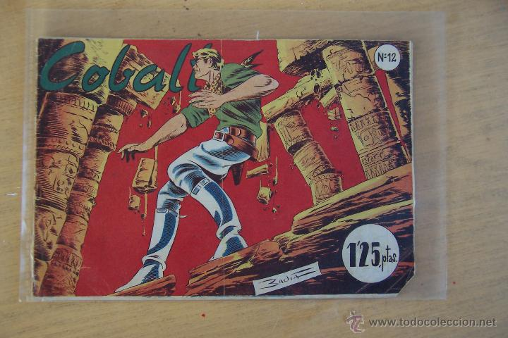 SÍMBOLO. COBALTO Nº 12 (Tebeos y Comics - Tebeos Otras Editoriales Clásicas)