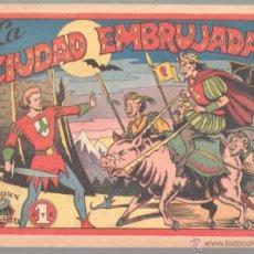 Tebeos: COLECCION MARGARITA Nº 41 ORIGINAL EDITORIAL FAVENCIA 1951 - SIN ABRIR - LA CIUDAD EMBRUJADA. Lote 51393740
