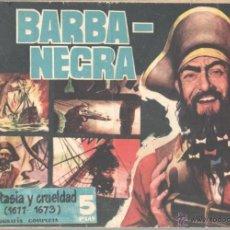 Tebeos: PIRATAS Y CORSARIOS ORIGINAL Nº 1 BARBA NEGRA - EDITORIAL GESTION 1958 - 34 PÁGINAS. Lote 51430270