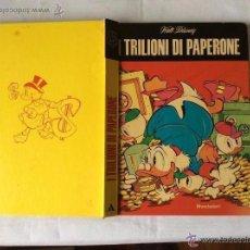 Tebeos: TEBEO ITALIANO TRILIONI DI PAPERONE WALT DISNEY ,AÑO 1977 -1ª EDICIÓN. Lote 51582019