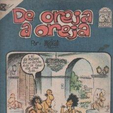Tebeos: TEBEO DE OREJA A OREJA. COLECCION VECINOS. EDITORIAL PABLO DE LA TORRIENTE. CUBA 1988. Lote 51595129
