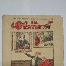 Tebeos: ANTIGUA REVISTA ORIGINAL ( EN PATUFET , Nº 909, AÑO XVIII - 1921) ..R-141. Lote 51632191
