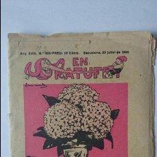 Tebeos: ANTIGUA REVISTA ORIGINAL ( EN PATUFET , Nº 903, AÑO XVIII - 1921) ..R-144. Lote 51642439