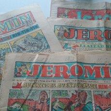 Tebeos: JEROMIN AÑO VII Nº 349,359,360,362- DE 1932 +80 AÑOS TAMAÑO 39X29- 8 PAG.. Lote 51666335