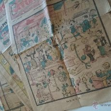 Tebeos: 16 EJEMPLARES JEROMIN AÑO-AÑOV 1933 (VER DESCRIPCIÓN). Lote 51670726