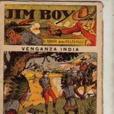 Tebeos: JIM BOY VENGANZA INDIA. AVENTURAS Y VIAJES EDITORIAL EL GATO NEGRO. Lote 51697027