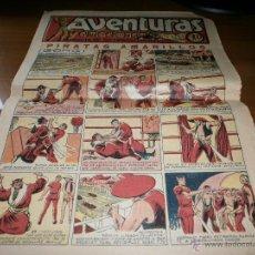 Tebeos: REVISTA DE HISTORIETAS AVENTURAS - PIRATAS AMARILLOS - EDITORIAL EL GATO NEGRO - 1936. Lote 51839932