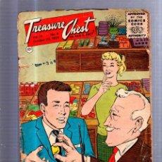 Tebeos: TEBEO TREASURE CHEST. EEUU. VOL 15. Nº 4. OCTUBRE 1959. EL DE LA FOTO. Lote 51921665