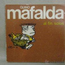 Tebeos: MAFALDA (AL FIN SOLOS) / EDITORIAL LUMEN . Lote 52033186