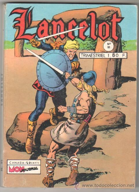 LANCELOT Nº 91 - 1972 CON 65 PÁGINAS DE PEQUEÑO PANTERA NEGRA -PUBLICIDAD DE MORTADELO - EN FRANCES (Tebeos y Comics - Tebeos Otras Editoriales Clásicas)