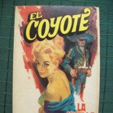 Tebeos: EL COYOTE - JOSE MALLORQUI - Nº 39 LA HUELLA AZUL. ED. FAVENCIA 1974 JANO. Lote 52307058