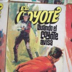 Tebeos: EL COYOTE - JOSE MALLORQUI - Nº 34 CUANDO EL COYOTE AVISA. ED. FAVENCIA 1974 JANO. Lote 52307107