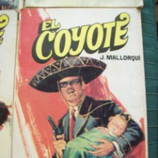 Tebeos: EL COYOTE - JOSE MALLORQUI - Nº 33 RAPTO. ED. FAVENCIA 1974 JANO. Lote 52307271
