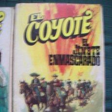 Tebeos: EL COYOTE - JOSE MALLORQUI - Nº 36 EL JINETE ENMASCARADO. ED. FAVENCIA 1974 JANO. Lote 52307378