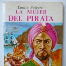Livros de Banda Desenhada: MINIBIBLIOTECA DE LA LITERATURA UNIVERSAL * *LA MUJER DEL PIRATA * *EMILIO SALGARI.. Lote 52324566